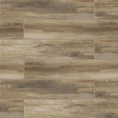 "Distressed 8"" x 36"" Floor & Wall Tile in Ciliegia"