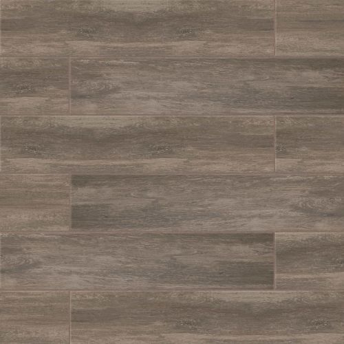 "Distressed 8"" x 36"" Floor & Wall Tile in Noce"