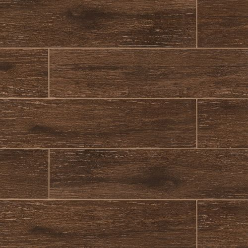 "Prestige Collection 6"" x 24"" Floor & Wall Tile in Walnut"