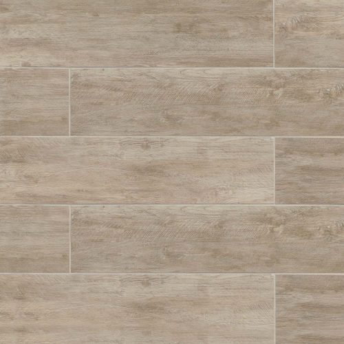 "River Wood 8"" x 24"" Floor & Wall Tile in Oak"