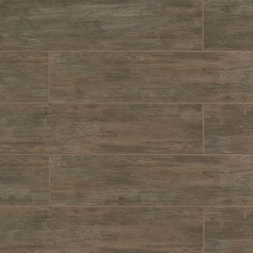 "River Wood 8"" x 24"" Floor & Wall Tile in Walnut"