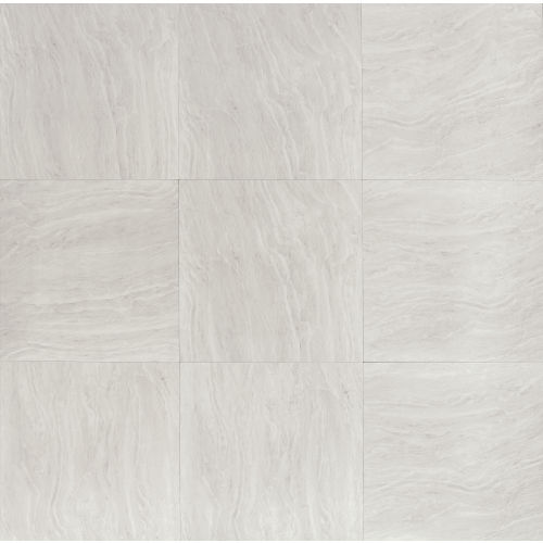 "Yosemite 24"" x 24"" x 3/8"" Floor and Wall Tile in Silver"