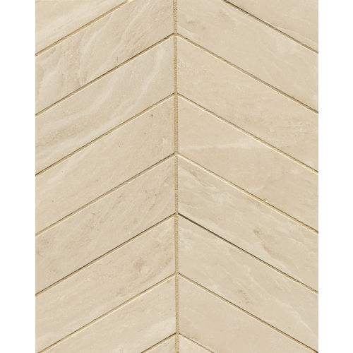 "Yosemite 2"" x 6"" Floor and Wall Mosaic in Beige"