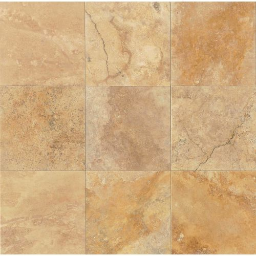 "Crema Viejo 18"" x 18"" Floor & Wall Tile"
