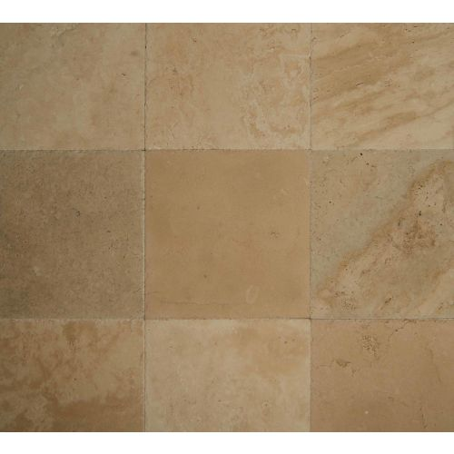 "Ivory Antique 16"" x 16"" Floor & Wall Tile"