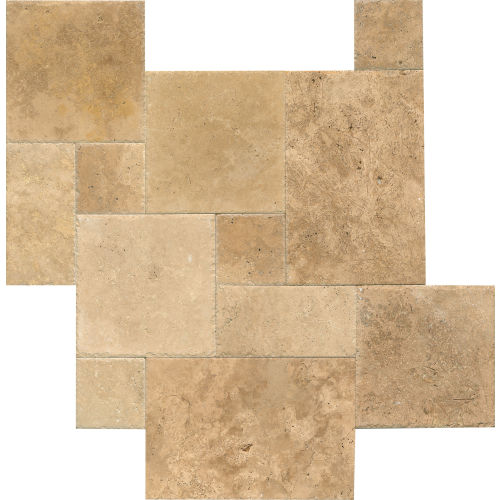 "Warm Walnut 16"" x 16"" Floor & Wall Tile"