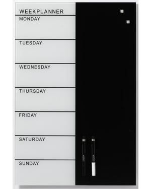 NAGA Glass Week Planner 40x60