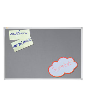 X-Tra!Line Grey Felt Noticeboard 1800 x 1200mm