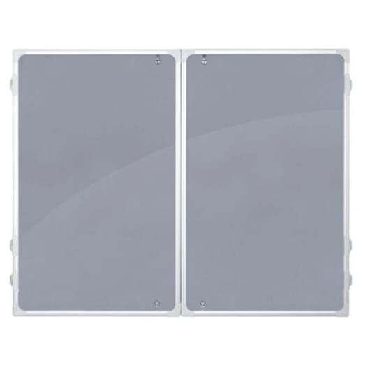 Franken Grey Felt Indoor Display Case 150 x 120cm