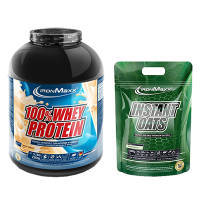100% Whey Protein + Gratis Instant Oats