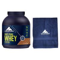 100% PURE Whey Protein + Gratis Handtuch