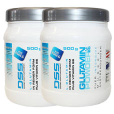 Glutamin Powder V.B6 2er Pack