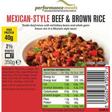 Mexican Style Beef & Brown Rice