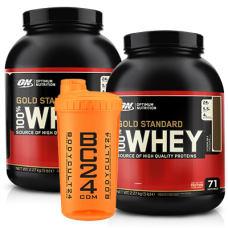 100% Whey Gold Standard + BC24 Shaker