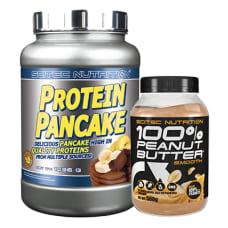 Protein Pancake + GRATIS Peanut Butter