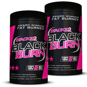 Black Burn 2er Pack