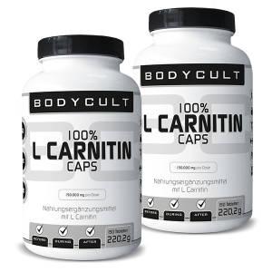 BC 100% L Carnitin Caps 2er Pack