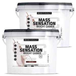 MASS SENSATION Weight Gainer 2er Pack