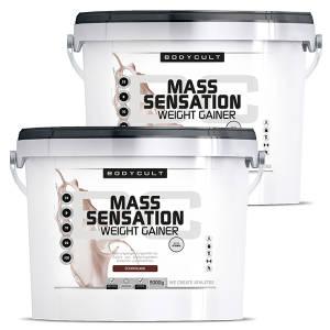 MASS SENSATION Weight Gainer 2er Pack