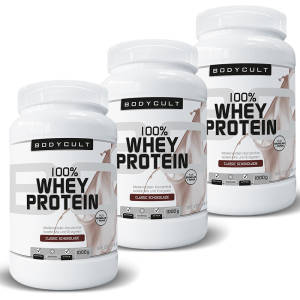 100% Whey Protein 3er Pack