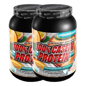 100% Casein Protein 2er Pack