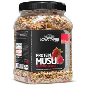 Protein Müsli Himbeer Erdbeer