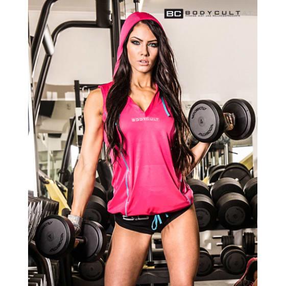 BC Girl Workout Hoodie Sleeveless
