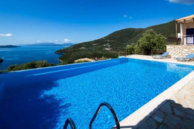 Villa Kalyvia - Endless Sea view on Sivota Hills like a Dream