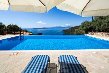 Villa Eleona - breathtaking view of the Ionian Sea