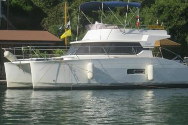 Odyssea  -FOR RENT -Beautiful Motor Catamaran Ionian Islands- with Skipper