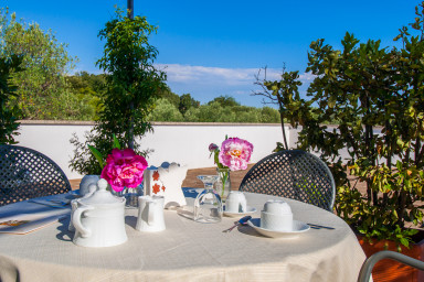 Suite Alta in Villa Carenza: luxury accomodation in Puglia