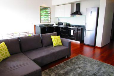 Appartement Heitiare - Papeete centre - vue ville/ wifi/ clim -4 personnes