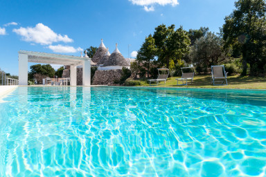 Trulli Santa Maria dei Grani: Holiday Rental Trulli with private pool