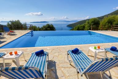 Villa Andromeda - Stunning view on the Ionian Sea