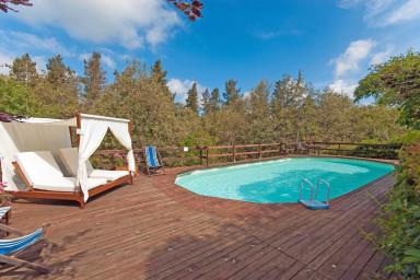 Härlig villa med pool med ett lugnt läge i vackra Toscana