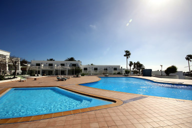 Apartment Las Salinas in Puerto del Carmen with sea view and shared pool