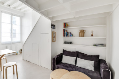 Studio Lumineux Quartier Chic Paris