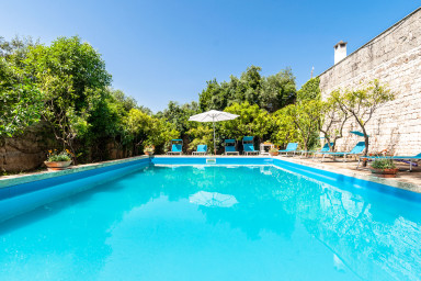 Masseria Tarsia Incuria: Authentic Farmhouse with private pool