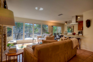 Expansive Greenbelt View in the Heart of Austin!