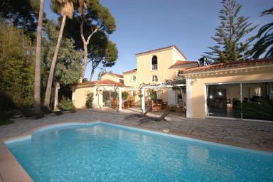 Stor villa med pool med plats för hela familjen