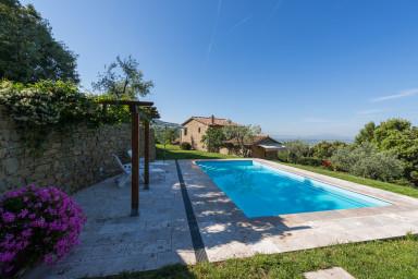 Romantisk villa för två med pool i Toscana