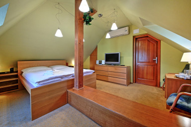 Tyn Attic Room in Old Town Square