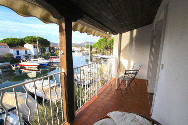 2-room apartment with a 12,50m mooring