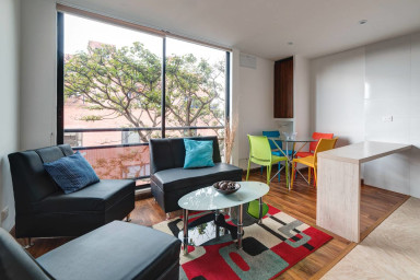 Tree-View Apartment in Chapinero Alto