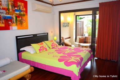 Studio Ninamu - proche du centre Papeete - piscine & fitness - 3 pers
