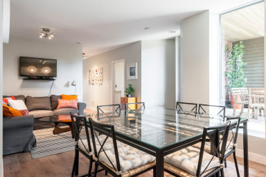 Le Lounge: Vaste appartement Plateau Mont-Royal + grande terrasse