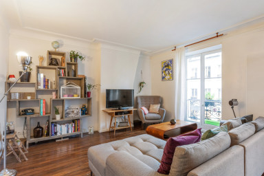 Appartement au style vintage et design, Paris 10e - W205
