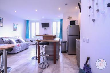 Appartement 4 couchages, en plein centre du village de Biot, aperçu mer