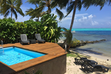 Villa Maharepa Beach by Enjoy Villas - Moorea - piscine, plage privée- 8per