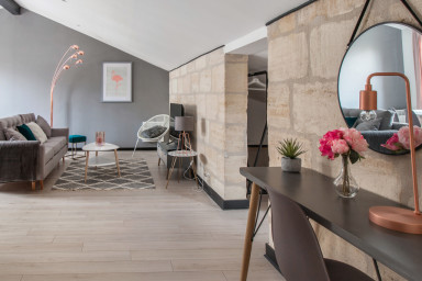 Magnifique appartement dans un quartier vivant de Bordeaux